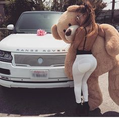 Best Car Accessories Aliexpress (click in photo) watch now! Luxury Gifts For Her, Best Gifts For Her, Costco Bear, Teddy Girl, Teddy Bear Pictures, Luxe Life, Girl Swag, Car Girls, Nice Asses