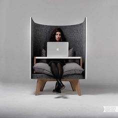 Furniture: V1 chair - privacy anywhere you need