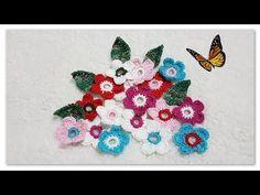 Oi meninas (os)...Hoje deixo para vocês uma aula de Flor de Crochê Passo a Passo Fácil. As flores de crochê podem ser usadas para aplicação. Crochet Doilies, Crochet Flowers, Free Pattern, Kids Rugs, Crafts, Album, Crochet Stitches For Beginners, Crochet African Flowers, Applique Towels