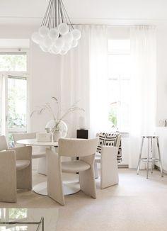 Top 10 salas de jantar com mesa redonda - Casa Vogue | Ambientes