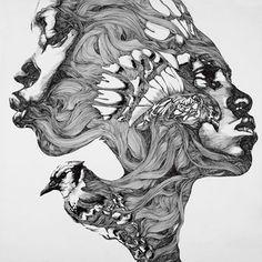 Foto: • ARTIST . GABRIEL MORENO •  ◦ Untitled ◦ #streetart