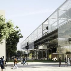 3 Winners Announced in Competition to Design the New Aarhus School of Architecture,Courtesy of Erik Giudice Architect