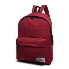 Simple Canvas Backpack Male High Quality School Bag Laptop Backpack Travel  Men Bagpack 5e538b9b0b611