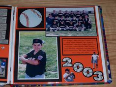 Giants Baseball 2 - Scrapbook.com