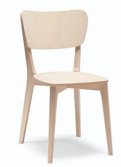 Chaise pour restaurant en bois Capitol - Sledge