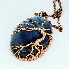 """Joy shared a post on Instagram: """"#labradorite #labradoritejewelry #treeoflife #sold!  . . #jewelry #jewellry #handmade…"""" • Follow their account to see 738 posts."""