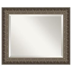 Amanti Art Barcelona Pewter-Tone Wall Mirrors 32x26 sale $162