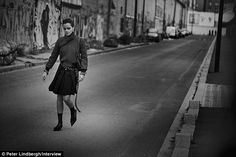 The shoot took place on the streets of Paris in March of this year...