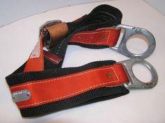 KLEIN TOOLS 5447 Climbing Safety Belt Lineman Electrician Double Back Buckle #KleinTools