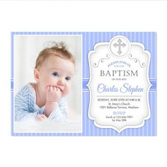 boy baptism invitations elegant baptism invitations pinterest