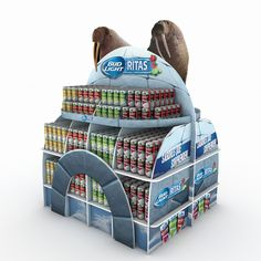 Pallet BUDLIGHT RITAS on Behance