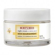 Burt's Bees Skin Nourishment Night Cream for Normal to Combination Skin, 1.8 Ounces #BestSkinCream