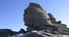 The Sphinx of Romania is a rock formation in the Bucegi Mountains (South East Romania), in the Carpathians.