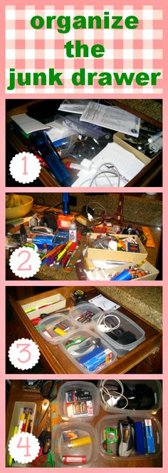 Organize the Junk Drawer