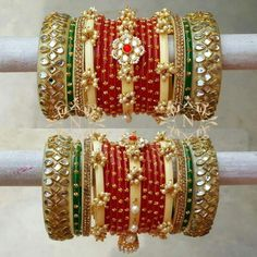 Need Cash? Silk Thread Bangles, Thread Jewellery, Bridal Bangles, Bridal Jewelry, Chuda Bangles, Thread Bangles Design, Jewelry Patterns, Silver Bracelets, Handmade Jewelry
