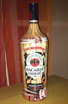 Bacardi Oakheart Spirit Drink, Bacardi, Rum, Vodka Bottle, Spices, Drinks, Drinking, Spice, Beverages