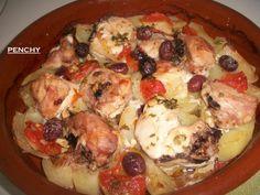 Pollo asado al estilo Murciano