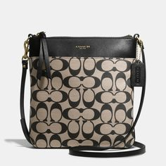 The Legacy North/south Swingpack In Printed Signature Fabric from Coach Coach Handbags Outlet, Mk Handbags, Handbags Michael Kors, Coach Purses, Purses And Handbags, Designer Handbags, Coach Outlet, Replica Handbags, Designer Purses