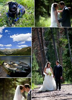 classic mountain wedding in vail colorado