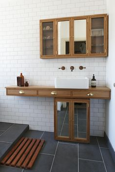 Bathroom Vanity - Recycled Messmate