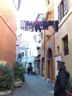 ROMA vicolo del Cedro - Trastevere