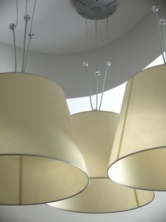 Lampade Artemide. Non il solito lampadario, ma luce di design! #light #interiordesign