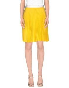 Knee length skirts by Neil Barrett, Women's, Size: 4, Yellow