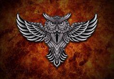 Celtic dragon by shepush on DeviantArt Celtic Dragon, Moose Art, Owl, Deviantart, Stuff To Buy, Owls