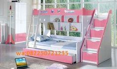 Bedding Engaging Stylish Girls Bunk Bed Jitco Furniture Girl Beds Twin Over F Girl Bunk Beds Girl Bunk Beds Castle. Girl Bunk Beds Twin Over Full. Girl Bunk Beds With Slide. Girl Bunk Beds With Stairs. Cheap Bunk Beds, Girls Bunk Beds, Cool Bunk Beds, Kid Beds, Girls Bedroom, Bedroom Ideas, Lofted Beds, Bedroom Decor, Solid Wood Bunk Beds