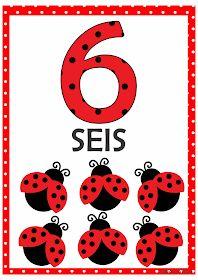 Numerais Joaninha para Imprimir Grátis Numbers Preschool, Preschool Printables, Preschool Worksheets, Preschool Activities, Number Flashcards, Flashcards For Kids, Snoopy Love, Bird Theme, Math Journals