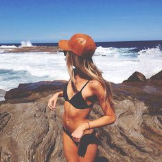 Hats are good. Bikinis are better.