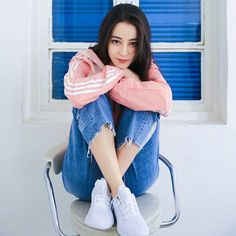 Baby Face - Gadis Dumay Holy Chic, Asian Celebrities, Asian Actors, Female Stars, Chinese Actress, Ulzzang Girl, Girl Crushes, Pink Girl, Asian Beauty