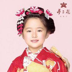 七五三用髪飾り 梅3点セット[赤](7歳用) | かづら清老舗 | 創業慶応元年 - 特製椿油と和雑貨のオンラインショップ