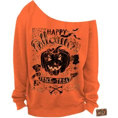 vintage halloween shirt ladies off the shoulder sweatshirt halloween 22 - Halloween Shirts For Ladies
