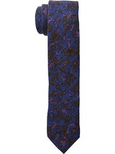 Ted Baker Floral Scroll Wardrobe Groom Ties, Ted Baker, Pajama Pants, Free Shipping, Floral, Color, Style, Fashion, Swag