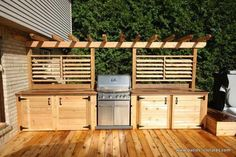 """Acquire excellent suggestions on """"outdoor kitchen designs layout patio"""". They are on call for you on our web site. kitchen design layout Best Ideas Outdoor Kitchen Designs - Best Home Ideas and Inspiration Outdoor Kitchen Bars, Outdoor Kitchen Design, Out Door Kitchen Ideas, Patio Kitchen, Kitchen Sink, Deck Design, Küchen Design, Bbq Area, Outdoor Grill Area"""