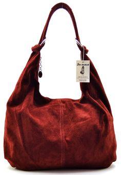 SAC-DESTOCK - Mujer Bolso de Mano de Cuero - Correa de mano y el hombro - Cuero gamuza - Ref : IBIZA: Amazon.es: Zapatos y complementos