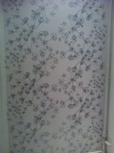 Wallpaper in Copenhagen. I found it in a toilet