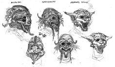 Daedric masks