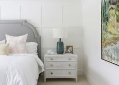 Board and Batten wall in guest room