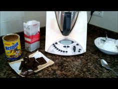 HELADO DE CHOCOLATE CON THERMOMIX - YouTube