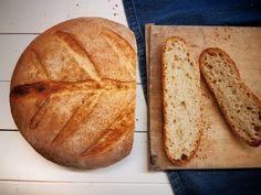 francuzsky chlieb z kvasku Bread, Cooking Ideas, Food, Brot, Essen, Baking, Meals, Breads, Buns