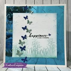 Sara's Signature  - Flutterby Collection #crafterscompanion