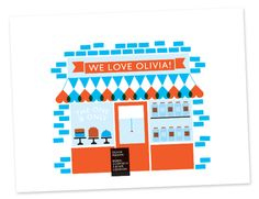 Confectioners Personalised Print | Ruka-Ruka | Order Online