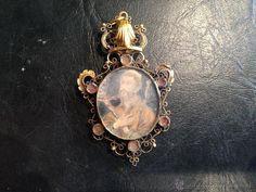 Antigüedades: relicario de oro sXVIII - Foto 2 - 43680339