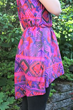 How to Sew a Women's High-Low Racerback Tunic