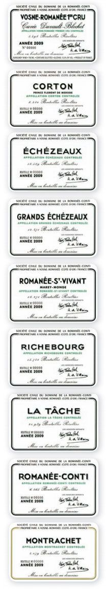 """Domaine de la Romanée-Conti, Burgundy: Current Releases    You don't get very far in a journey towards being a wine lover without hearing the words """"Romanée-Conti"""" spoken with some combination of reverence and amazement. And in today's world of Asian fueled wine-auction speculation, even those with casual interest in wine have heard of this famous domaine. Equally referred to as both the best wines in the world and the most expensive, the wines produced by the small..."""