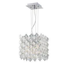 Eurofase - Luminaire Suspendue à 4 Lumières, Collection Cristallo - 22817-013 - Home Depot Canada