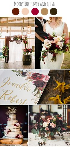classic moody burgundy and blush old world wedding colors wedding colors september / fall color wedding ideas / color schemes wedding summer / wedding in september / wedding fall colors Neutral Wedding Colors, Summer Wedding Colors, Fall Wedding Flowers, Flower Bouquet Wedding, Bridesmaid Bouquet, Wedding Color Schemes, Champagne Wedding Colors, Wedding Ceremony Ideas, Red Fall Weddings