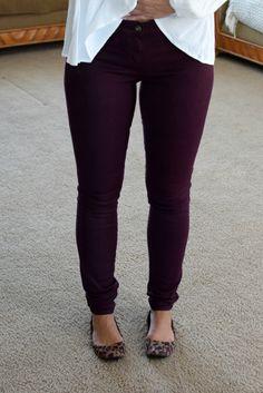 Stitch Fix Review October 2017: Lila Ryan Liza Colored Skinny Jean |www.pearlsandsportsbras.com|
